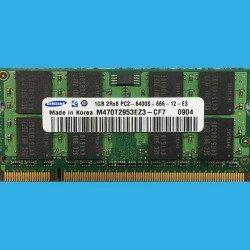 SAMSUNG 1GB 2Rx8 PC2-6400S-666-12-E3  --  M470T2953EZ3-CF7  0904 -- DDR2 200-PIN 800MHZ