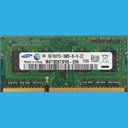 SAMSUNG 1GB 1Rx8  PC3-10600S-09-10-ZZZ -- M471B2873FHS-CH9  --  1124 - DDR3-1333MHz