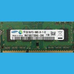 SAMSUNG  2GB  1Rx8 PC3-10600S-09-11-B2 -- M471B5773DH0-CH9  1136 -- DDR3-1333MHz