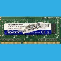 ADATA  2GB 1Rx8  PC3L-12800 --  AM1L16BC2P1-B1FS -  DDR3-1600MHz